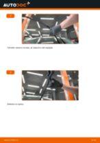 Jak vyměnit přední stírací lišty na Ford Fiesta JA8 – návod k výměně
