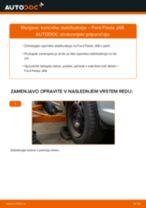 Kako zamenjati in prilagoditi Glavni zavorni cilinder FORD FIESTA: vodnik pdf