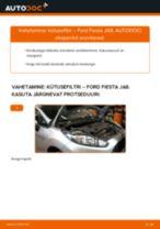 ALCO FILTER SP-1329 eest Fiesta Mk6 Hatchback (JA8, JR8) | PDF asendamise õpetused