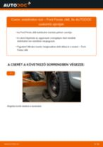 FORD FIESTA VI Stabilizátor összekötő beszerelése - lépésről-lépésre útmutató