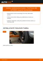 FORD gale dešinė Pasukimo trauklė keitimas pasidaryk pats - internetinės instrukcijos pdf