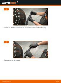 Wie der Wechsel durchführt wird: Scheibenwischer 1.25 Ford Fiesta Mk6 tauschen