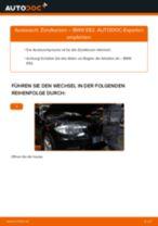 BMW Trommelbremsbacken hinten und vorne wechseln - Online-Handbuch PDF