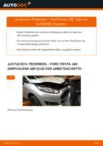 Schritt-für-Schritt-PDF-Tutorial zum Stabigummis-Austausch beim Abarth 124 Spider