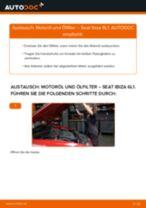 Wie Blinker Lampe SEAT IBIZA tauschen und einstellen: PDF-Tutorial