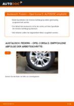 Wie Opel Corsa D Federn hinten wechseln - Anleitung