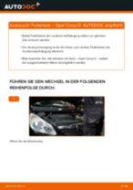 Wie Opel Corsa D Federbein vorne wechseln - Anleitung