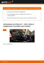 Aanbevelingen van de automonteur voor het vervangen van OPEL Opel Corsa D 1.2 (L08, L68) Koplamp