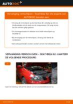 SEAT - reparatie tutorial met illustraties