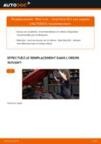 Changer Rotule de triangle NISSAN à domicile - manuel pdf en ligne