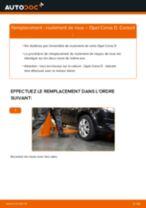 Comment changer : roulement de roue avant sur Opel Corsa D - Guide de remplacement