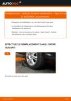 Comment changer : biellette de barre stabilisatrice avant sur Opel Corsa D - Guide de remplacement