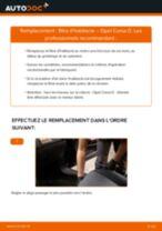 Comment changer : filtre d'habitacle sur Opel Corsa D - Guide de remplacement