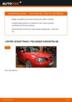 Skift Spiralfjeder SEAT IBIZA: pdf gratis