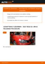 Vedligeholdelse SEAT manualer pdf