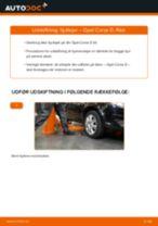 Skift af Hjullejesæt OPEL CORSA D - trin-for-trin vejledning