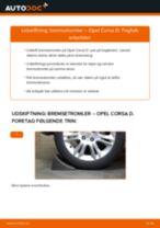 Udskift bremsetromler - Opel Corsa D | Brugeranvisning