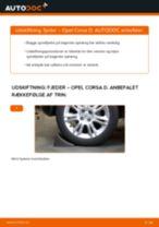 Udskift fjeder bag - Opel Corsa D | Brugeranvisning