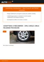 Udskift støddæmper bag - Opel Corsa D | Brugeranvisning