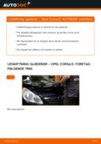 Udskift gløderør - Opel Corsa D | Brugeranvisning