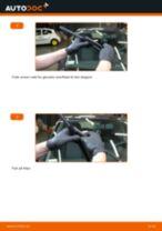 PDF udskiftnings manual: Vinduesvisker OPEL Corsa D Hatchback (S07) bag og foran