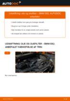 Udskift motorolie og filter - BMW E82   Brugeranvisning