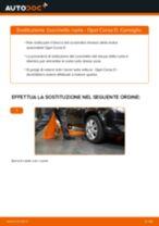 Cambio Kit cuscinetto ruota posteriore e anteriore OPEL da soli - manuale online pdf