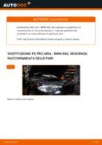 Cambio Filtro dell'aria BMW da soli - manuale online pdf