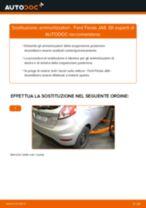 Come cambiare ammortizzatori della parte posteriore su Ford Fiesta JA8 - Guida alla sostituzione