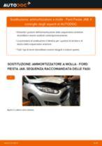 Come cambiare è regolare Kit ammortizzatori FORD FIESTA: pdf tutorial