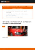 Auto mechanic's recommendations on replacing SEAT Seat Ibiza Mk3 1.4 16V Springs