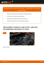 How to change engine oil and filter on BMW E82 – replacement guide