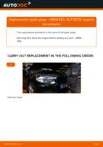 Online manual on changing Brake pad set disc brake yourself on NISSAN VANETTE CARGO Box (HC 23)