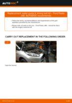 GATES WP0090 for Fiesta Mk6 Hatchback (JA8, JR8) | PDF replacing instruction