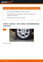 Byta Spiralfjäder OPEL CORSA: gratis pdf