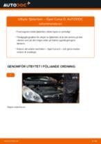 Byta fjäderben fram på Opel Corsa D – utbytesguide