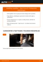 Bytte Glødeplugger FORD Kuga Mk3: handleiding pdf