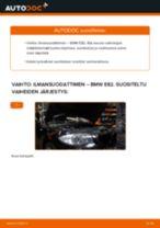 Kuinka vaihtaa ilmansuodattimen BMW E82-autoon – vaihto-ohje
