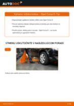 Vymeniť Lozisko kolesa OPEL CORSA: zadarmo pdf