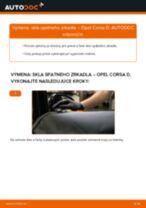 Online návod, ako svojpomocne vymeniť Manżeta Riadenia na aute OPEL CAMPO