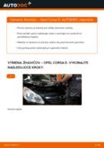 Ako vymeniť žhaviče na Opel Corsa D – návod na výmenu