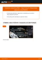 Ako vymeniť vzduchový filtr na Opel Corsa D – návod na výmenu