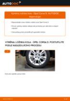 Jak vyměnit zadní ložisko kola na Opel Corsa D – návod k výměně