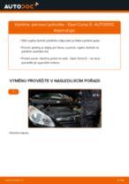 Jak vyměnit přední pérovací jednotka na Opel Corsa D – návod k výměně
