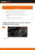 Jak vyměnit motorový olej a olejový filtr na BMW E82 – návod k výměně