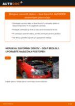 SEAT - priročniki za popravilo z ilustracijami