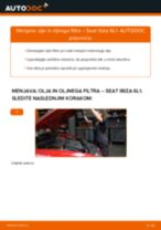 Navodila za vzdrževanje SEAT pdf