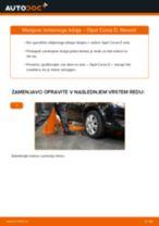 Kako zamenjati avtodel kolesni ležaji spredaj na avtu Opel Corsa D – vodnik menjave