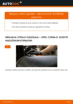 Kako zamenjati avtodel steklo ogledala na avtu Opel Corsa D – vodnik menjave
