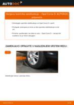 Kako zamenjati avtodel končnik stabilizatorja spredaj na avtu Opel Corsa D – vodnik menjave